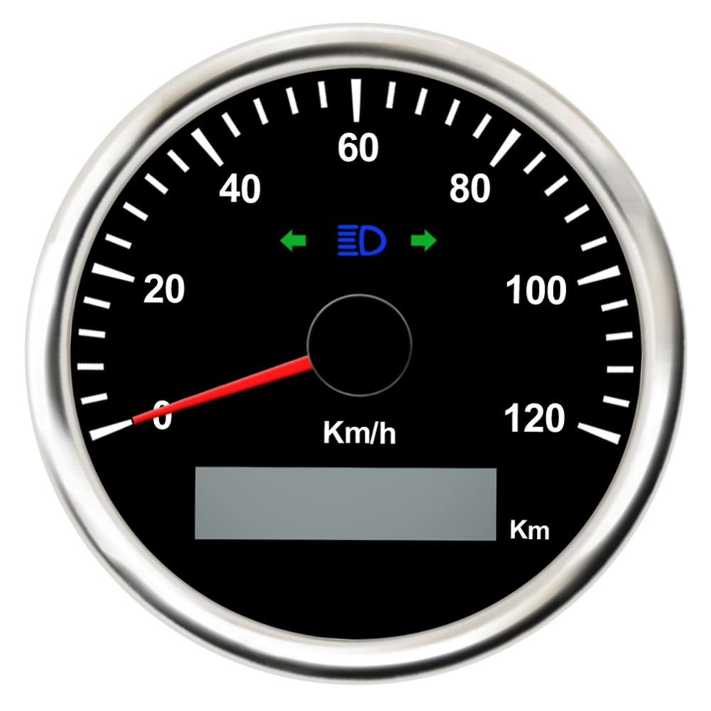 85mm 120Km/h 200km/h Speed Gauge Waterproof Digital Car Speedometer Gauge Meter fit Car Boat Motorcycle 12V 24V with Backlight 12v 24v 85mm gps speedometer odometer 0 35knots waterproof for car motorcycle boat yacht vessel with blue backlight