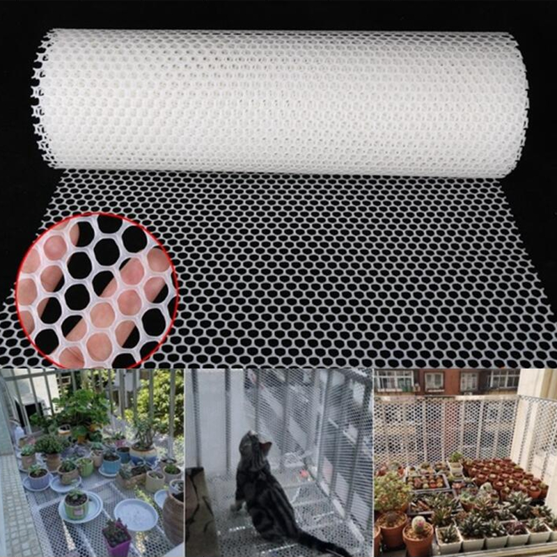 Network pvc fence balcony Protection Children Cats Dogs Plastic to MT 17008v