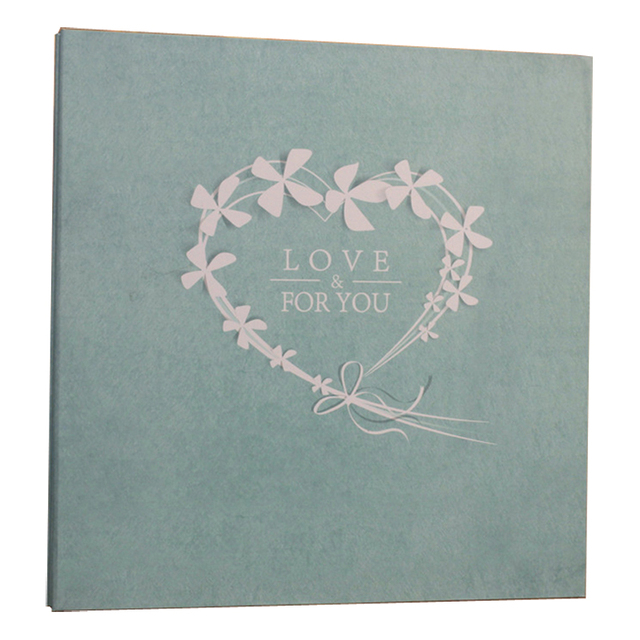Self Adhesive Photo Album With Film Loose-leaf PET Sheets 2-300 5/6/7inch Photos Family Yearbook DIY Picture Album Welding Gift