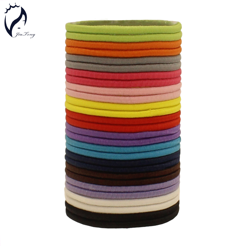 100pcs/lot 50mm Kids Girls Women Gum For Hair Accessories Para El Pelo Hair Holders Rubber Bands Elastics Accessories Tie Hair 30pcs candy fluorescence colored hair holders high rubber baby bands hair elastics accessories girl women tie gum and spring