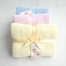 Хлопковое одеяло Bebe, детское одеяло для кормления, портативное одеяло для пеленания, для прогулок, Летнее Детское одеяло, 90x120 см
