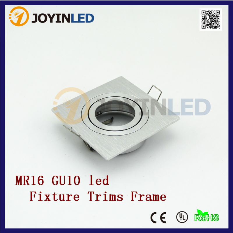 10PCS High Quality Top selling MR16/GU10 led lights fixtures Recessed SpotlightS Fitting