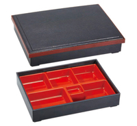 Free Shipping Japanese Food Restaurant ABS Imitate Wood Lunch Box For Sushi Removable Dimension 36 27