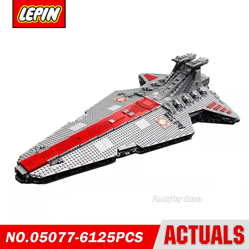 Lepin 05077 Ucs Republic Cruiser St04 Star Series Wars Model Building Block Brick Kits Assembling Toys Gift