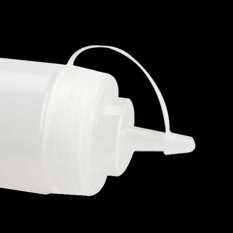 8 unze Küche Kunststoff Squeeze Flasche Würze Spender für Sauce Essig Öl Ketchup Menage Küche Zubehör