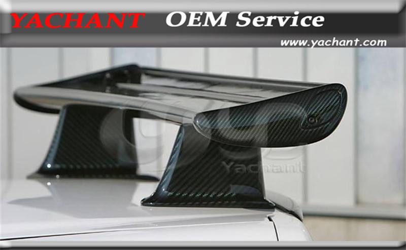 Car Styling Auto Accessories Carbon Fiber CF Rear Spoiler Fit For 1999-2002 Skyline R34 GTT GTR OEM Rear Trunk Spoiler Wing