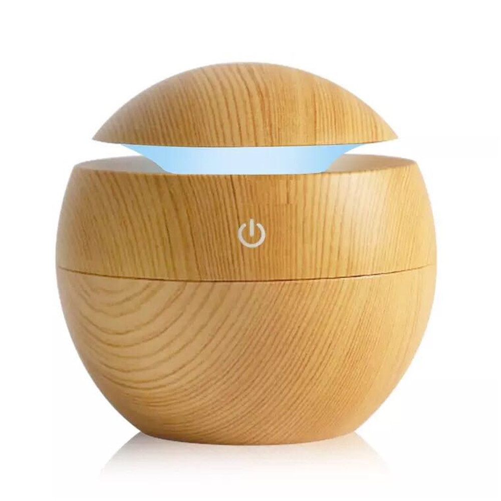 130ML Ball Humidifier With Aroma Lamp Essential Oil Ultrasonic Electric Aroma Diffuser Mini USB Air Humidifier Fogger