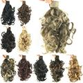 11 colors, wavy curl Ponytails, Synthetic ponytail, hair band Hair Extensions