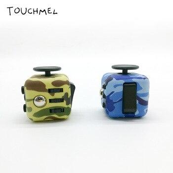 TOUCHMEL Fidget Cube Fidget Spinner Toy EDC Anti Stress Wheel Fidget Cube 3