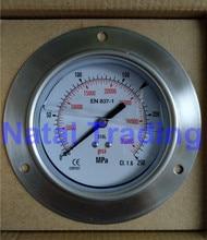 Spedizione Gratuita! 250Mpa M20X1.5 di riempimento olio di silicone Manometro di Alta Pressione 35000psi sistema di carburante ad alta pressione idraulica calibro