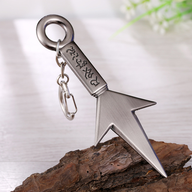 25 Style NARUTO Keychain Anime Key Chain Akatsuki hat Key Ring Holder scrolls Pendant Chaveiro Jewelry Souvenir 5