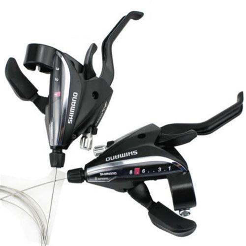 SHIMANO ST-EF65-8 MTB 3 x 8 //24 Speeds Brake /& Shifter Levers Kit for Bike