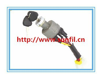 High Quality Ignition Switch 4 line Key Switch,Starter Switch for ,3PCS/LOT+Free shipping free shipping 5pcs lot temperature switch 1089063705 for atlas ga30 75 machine