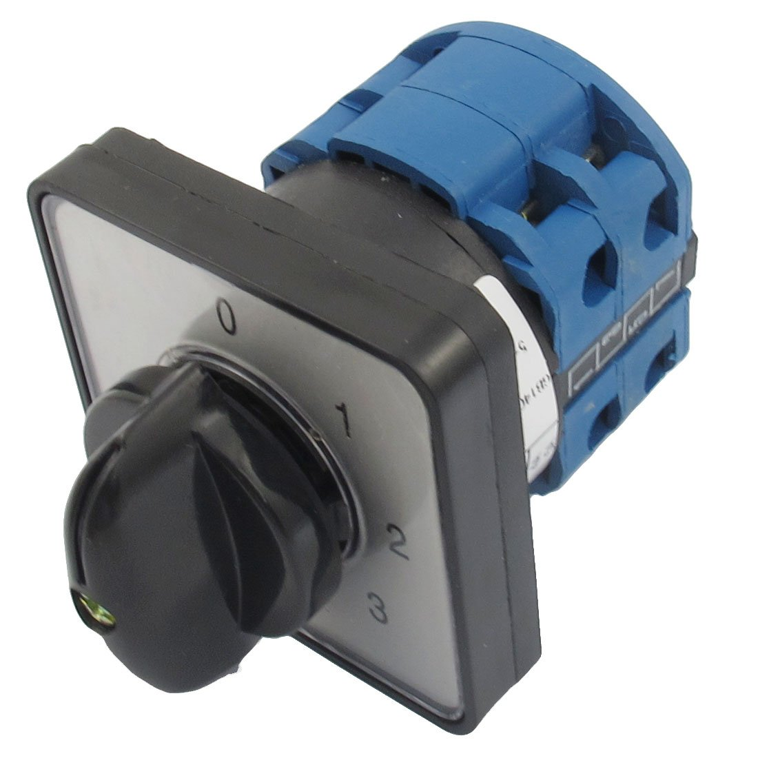 EWS 660V 20A 6 Terminals 4 Positions Rotary Cam Changeover Switch rotary switch ymz12 25 4 changeover cam combination switch 4 poles 8 positions 14 terminals 25a ui 690v sliver point contacts
