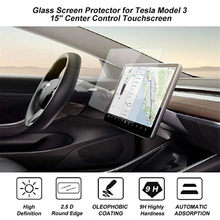 "Auto Navigatie Touch Screen Gehard Glas Protector 15 ""Center Controle Touchscreen Beschermen Film voor Tesla Model 3 Accessoires(China)"