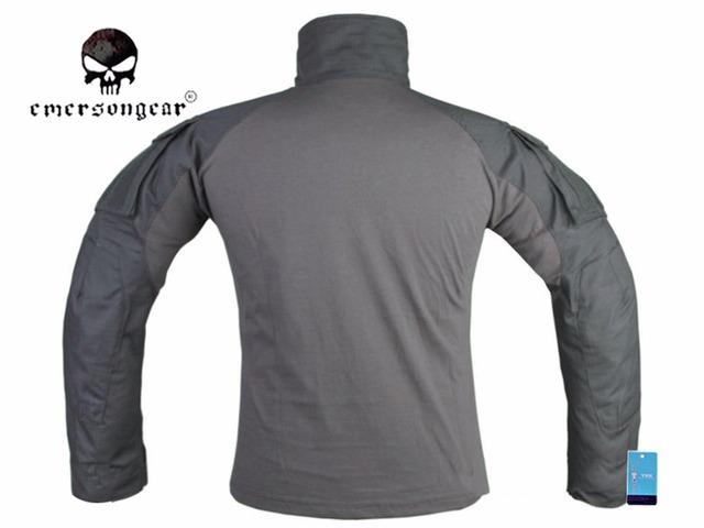 EmersonGear G3 koszula bojowa mężczyźni polowanie Airsoft ubrania Emerson Tactical Gen3 koszula wilk szary EM9293 tanie i dobre opinie COTTON Pasuje prawda na wymiar weź swój normalny rozmiar