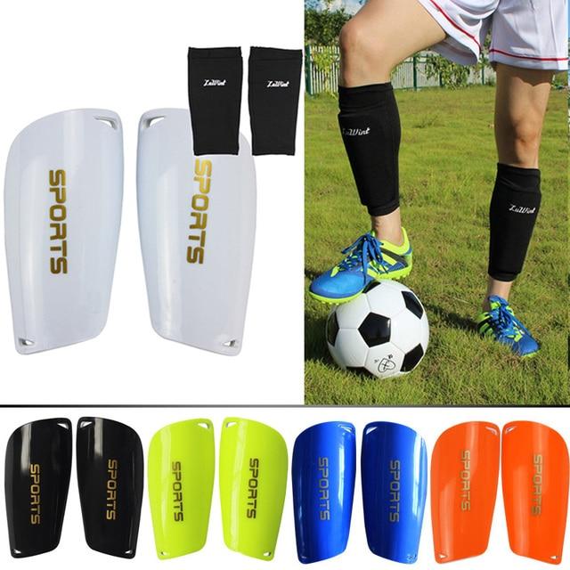 5553c62ff Free Shipping Soccer Shin Guards Football Shin Pads Socks for Sports Shin  Protector Leg Support For Kids Adult