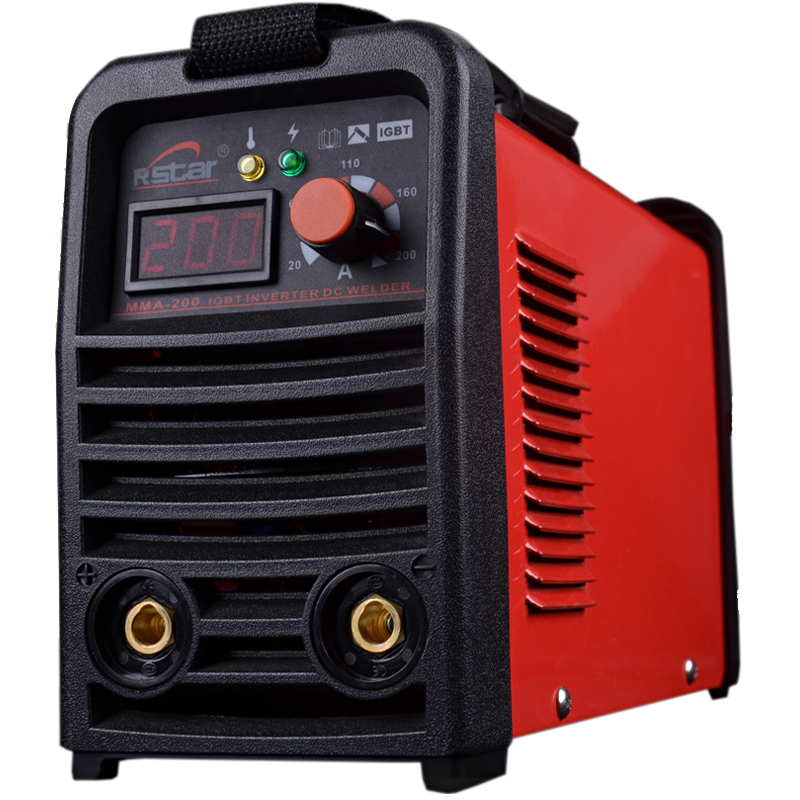 Rstar Digital Display Portable IGBT Inverter 110v/220v Double voltage automatic conversion DC MMA 200 Welding Machine