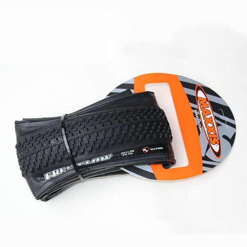 ФОТО Genuine Bicycle Tires Mountain Bike Tires 26*1.95 Folding Non-Slip Wear Anti-Thorn Tires Bike Tires