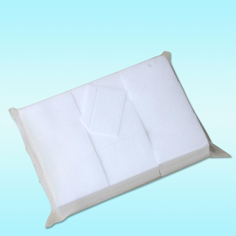 BellyLady 900PCS Non-Woven Cloth Nail Polish Napkins Manicure Gel Remover Manicure Accessorizes