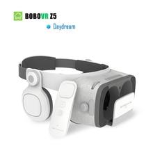 Orijinal bobovr Z5/bobo vr Z5 Sanal Gerçeklik gözlükleri 3D Gözlük google smartphone Için Kulaklık ile Stereo Kutusu karton