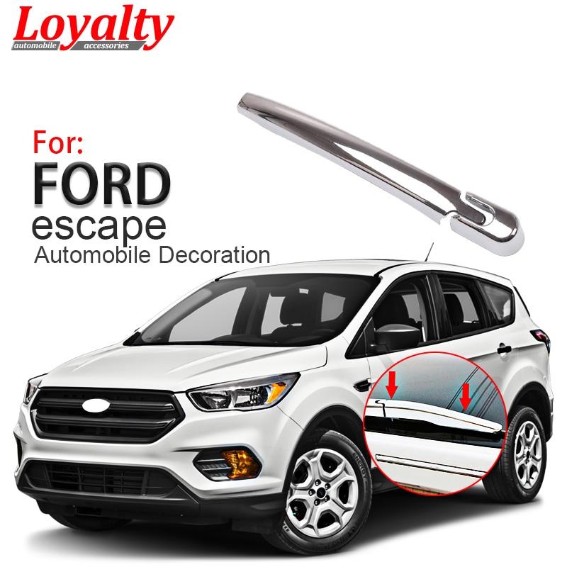 For Ford Kuga Escape 2013 2014 2015 2016 2017 Car Rear Wiper Cover Stickers