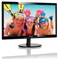"Philips LCD monitor with SmartControl Lite 246V5LSB/00, 61 cm (24""), 1920 x 1080 pixels, Full HD, LCD, 5 ms, Black"