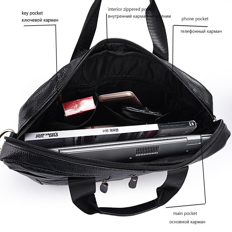 de couro maleta homem couro Size : L36cm*h29cm*w7cm
