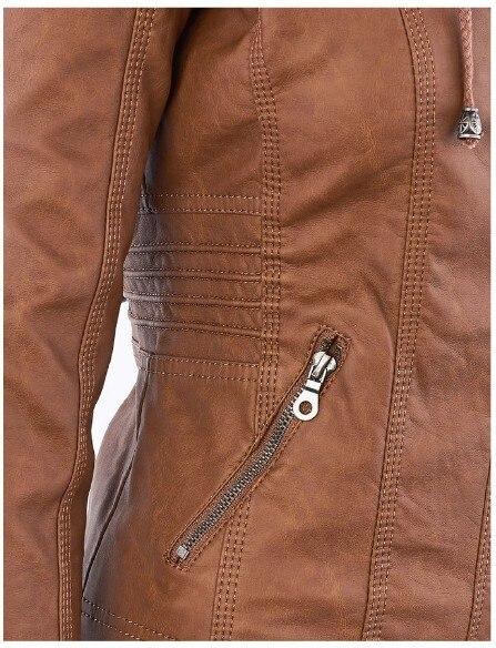 Riverdale Southside Riverdale Serpents black Brown PU Leather Jacket Women Riverdale Serpents Streetwear Leather Brand Coat 5