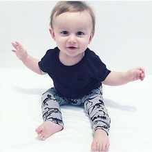 Dinosaur Printed New Baby Leggings