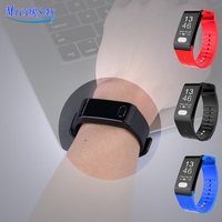 Newest Health Tracker Smart Bracelet Blood Pressure Heart Rate ECG Monitoring Watch Activity Fitness Smart Band