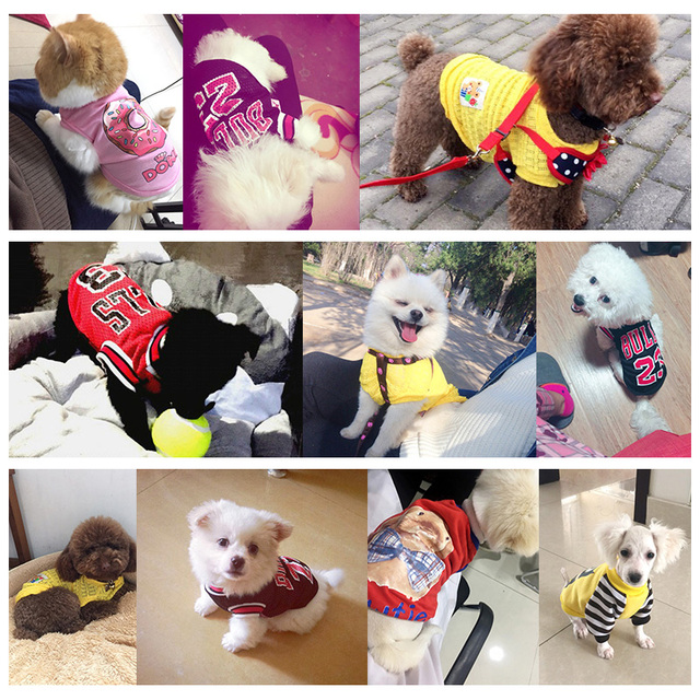 2017 petcircle new pet dog clothes summer sports dog vests mesh pet dog shirts for chihuahua yorkshire size XXS-L pet products