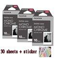 3 packs Fuji Fujifilm Instax Mini Instant Film Monochrome Photo Paper For Mini 8 7s 7 50s 50i 90 25 dw Share SP-1 Cameras