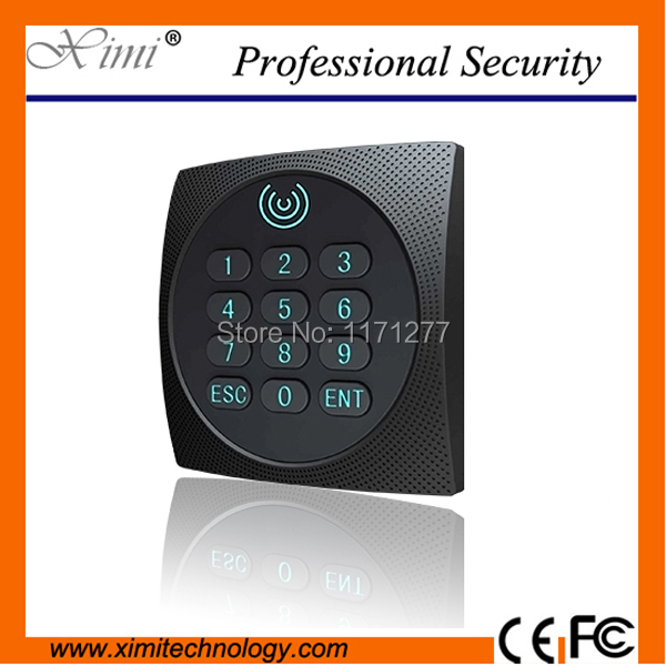 ZK High recognition speed weigand34 reader access control card reader 13.56MHZ MF IC smart card reader outdoor mf 13 56mhz weigand 26 door access control rfid card reader with two led lights