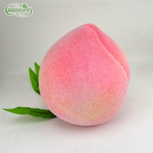 Extra large peaches artificial fruit model fake peach toy props