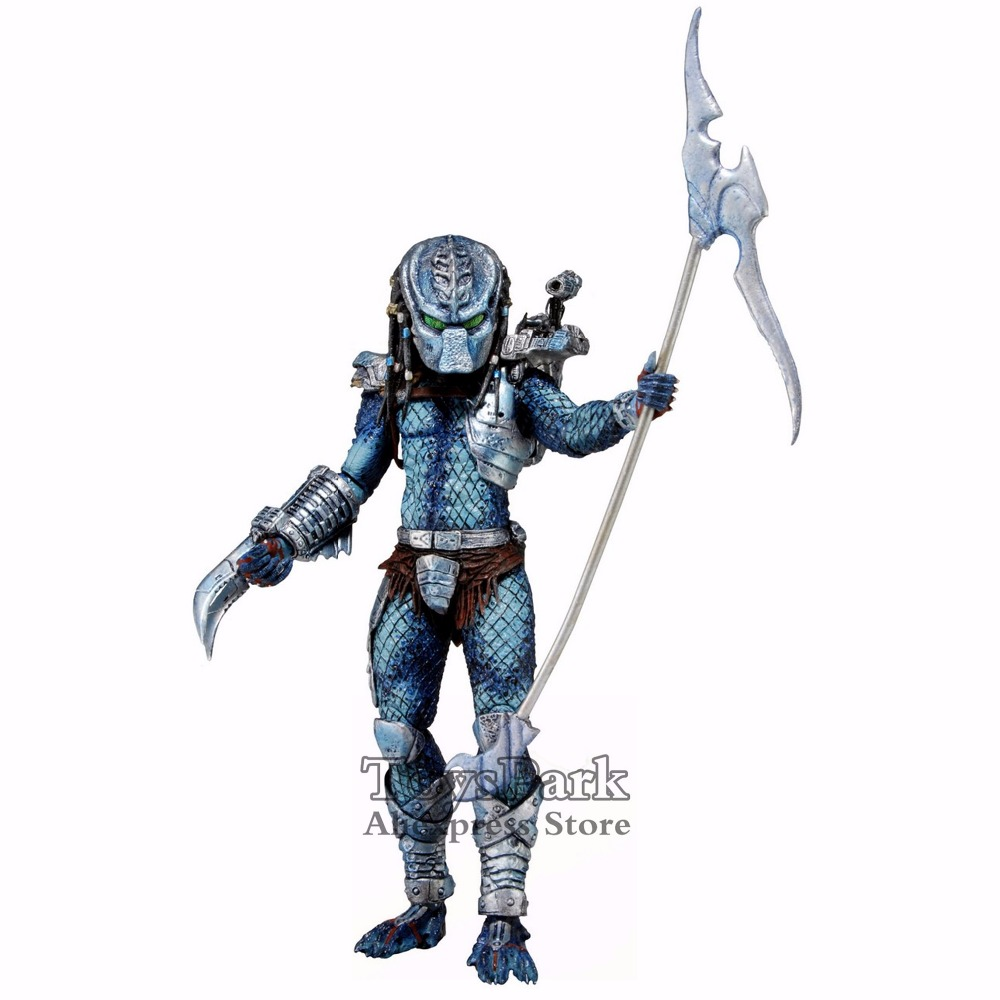 ToysPark Predator 7 Hive Wars Action Figure The Ultimate Alien Hunter 2013 NECA Predator Series 10 Collectible New In Box free shipping neca p1 7 soldier set classic predator 21cm alien hunter primevil avp