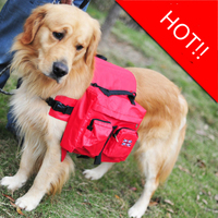 Outdoor Large Dog Bag Carrier Backpack Saddle Bags Camouflage Big Dog Travel Carriers For Hiking Training