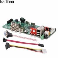 GADINAN CCTV Surveillance AHD DVR 4CH 1080P Real Time Security H 264 TVI CVI AHD Analog