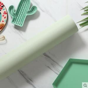 Image 2 - לבן עבה עמיד למים עצמי דבק טפט pvc בצבע עץ לבן דביק ארון דלת ישן חידוש רהיטי מדבקות