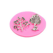 Trees Frozen Cakes Silicone Molds Handmade Chocolate Crafts Desserts Decorative DIY Bakery Baking Tools new