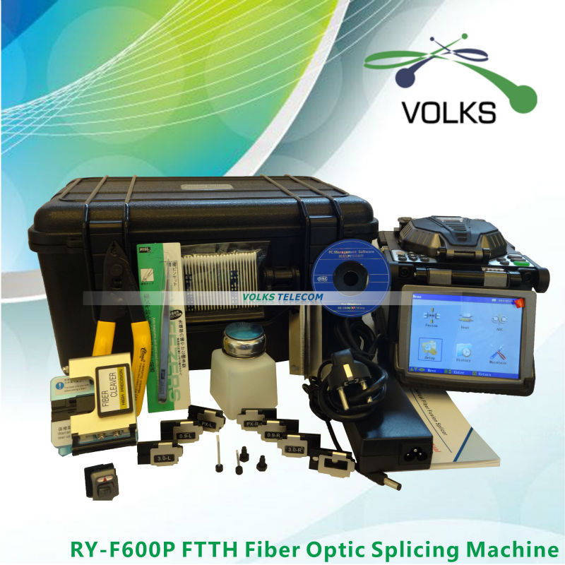 bilder für Original Ruiyan RY-F600P FTTH Fiber Optic Setzmaschine Spleißgerät