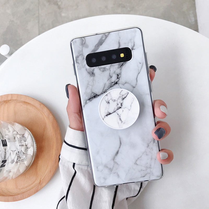 Classical Marble Phone Case For Samsung Galaxy A10 M10 A20 A30 A50 S10 Plus S10e S9 S8 Plus S7 Edge Soft TPU Back Cover
