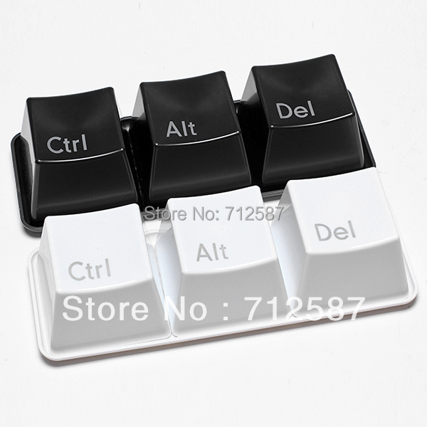 Keyboard cup fashion cup ctrl del alt per set include ctrl del alt 3 pieces