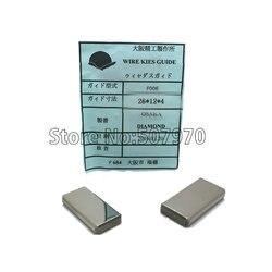 Fanuc styk zasilania węglika A290-8110-x750 (26*12*4mm) dla CNC maszyna EDM