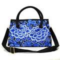 New Canvas Embroidery Tote Bags Ethnic Vintage Women Messenger Bag Leisure Crossbodybags Bolsas Feminina 2017