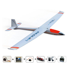 Free shipping RC 383 glider radios control airplanes brushless version Ready-to-Fly RC Planes for hobby model planeaeromodelling