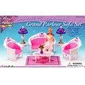 Новый корпус для Барби мебель аксессуары гостиной диван устанавливает девочки играют дома игрушки подарки