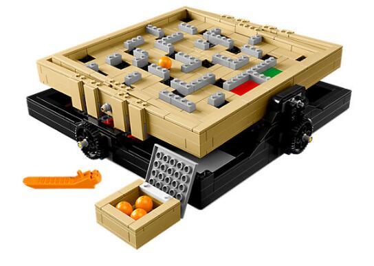 LELE 39000 Idea Pinball Maze Marble Originality Creative Tabletop Game Building Block Bricks Toys Gift for Children LEPIN 21305 wind pinball