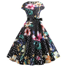 New Music Note Women Vintage Dress