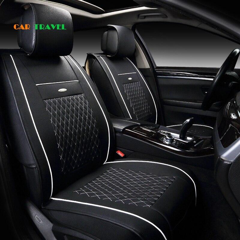 Us 726 56 Offprzód Tył Specjalne Skórzane Pokrowce Na Siedzenia Samochodowe Dla Renault Koleos Megane Scenic Nuolaguna Szerokości Krajobraz